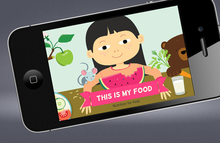 This is my food - Nutrition for kids